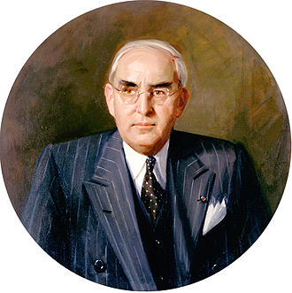 Arthur Vandenberg - Senate portrait of Arthur H. Vandenberg