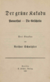 Arthur Schnitzler Der grüne Kakadu – Paracelus – Die Gefährtin.png