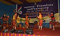 Artiste from Song & Drama Division Kolkata, Ministry of Information and Broadcasting performing Naga dance at Public Information Campaign on Bharat Nirman, at Yangang, South Sikkim on June 02, 2011.jpg