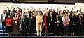 """Arun Jaitley in a group photograph at the concluding function of the MOF-IMF Conference on """"Advancing Asia Investing for the Future"""", in New Delhi.jpg"""