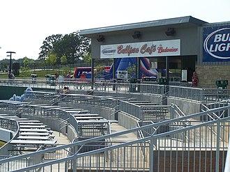 Arvest Ballpark - Image: Arvest Ballpark bullpen cafe
