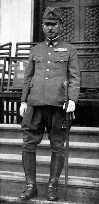 Nanking Massacre - Prince Yasuhiko Asaka in 1940