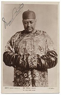 Oscar Asche 19th/20th-century Australian actor and director