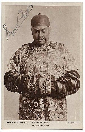 Oscar Asche - Asche in Chu Chin Chow, 1916