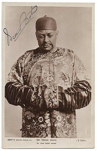 Chu Chin Chow - Oscar Asche in Chu Chin Chow