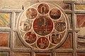 Asciano, museo di palazzo corboli, int., sala di aristotele con affreschi attr. a Cristoforo di Bindoccio e Meo di Pero, XIV sec. 06.JPG