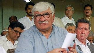 Asfandyar Wali Khan Pakistani politician