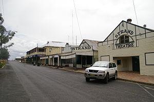 Ashford, New South Wales - The main street