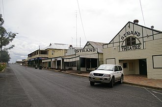 Ashford, New South Wales - The main street