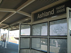 image illustrative de l'article Ashland (ligne orange CTA)