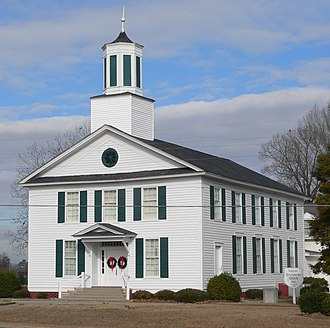 Ashpole Presbyterian Church - Image: Ashpole Presbyterian (Rowland NC) from SE 2