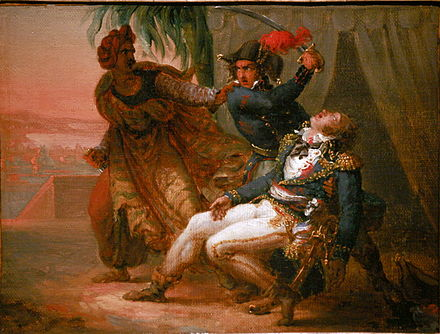 Assassination of Kleber, painting in the Musee historique de Strasbourg Assassination of Kleber f4925505.jpg