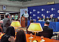 Assistant Secretary Russel Listens to Question From a Philippine Service Institute Student.jpg