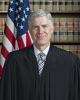 Neil Gorsuch Associate Justice of the Supreme Court of the United States
