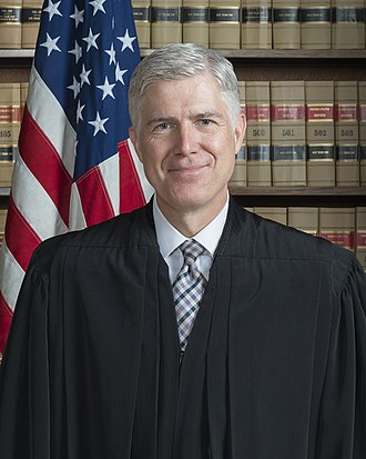 Neil Gorsuch - Image: Associate Justice Neil Gorsuch Official Portrait