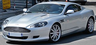 Grand Tourer produced by the British manufacturer Aston Martin as the successor to the DB7 from 2004–2016