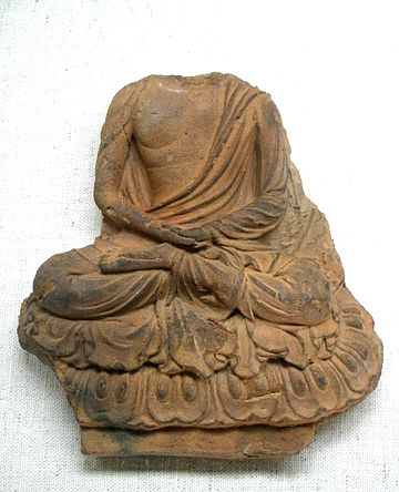 The Buddha, Asuka period, 7th century.