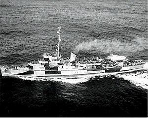 BRP Rajah Humabon (PS-11) - as USS Atherton c. 1945