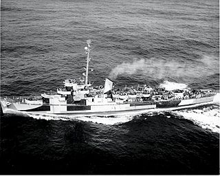 USS <i>Atherton</i> Cannon-class destroyer escort
