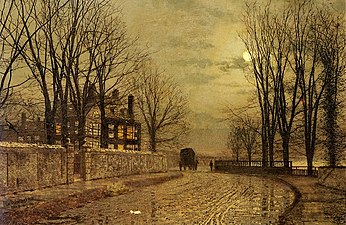 Atkinson Grimshaw 1836-1893 - British Victorian-era painter - Tutt'Art@ (40).jpg