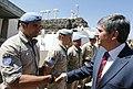 Außenminister Spindelegger auf dem Golan (8641687289).jpg