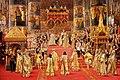 Au service des Tsars - George Becker - Le couronnement de l'empereur Alexandre III et de l'impératrice Maria Ferodovna - 1888 - ЭРЖ-1637.jpg