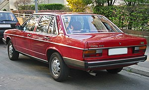 Audi 100 - 4-door sedan