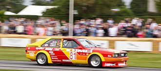 Group 2 (racing) - An Audi Coupe (B2) Group 2 Touring Car