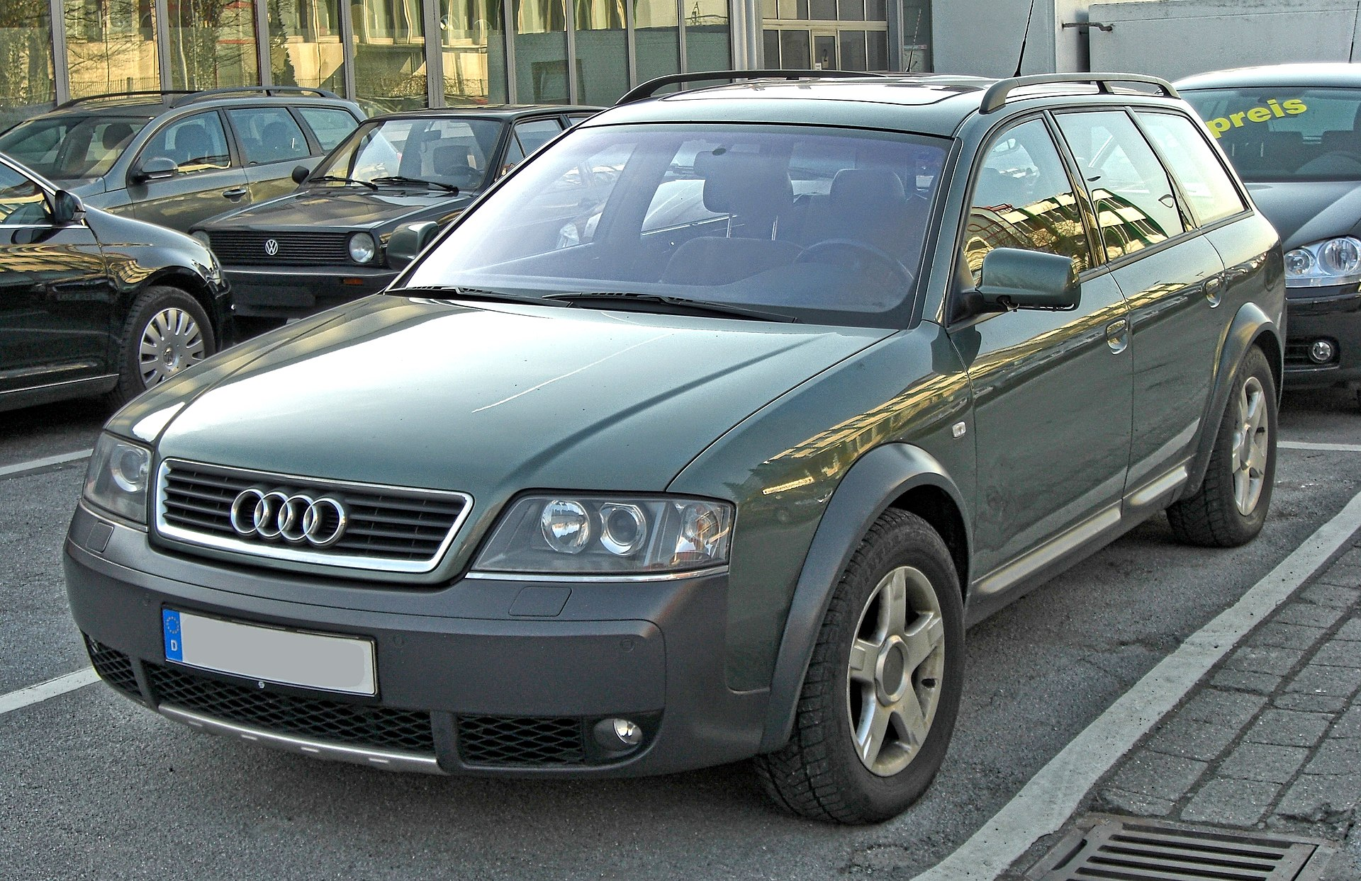 audi allroad quattro wikipedia. Black Bedroom Furniture Sets. Home Design Ideas