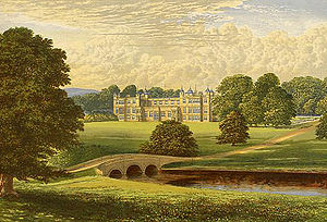 Audley End House - Image: Audley End Morris edited
