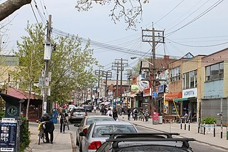 Kensington Market - The arrival of new businesses in the mid to late-1990s led to the revitalization of Augusta Avenue.