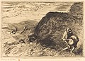 Auguste Lepère, Wreckers, Saint-Jean-de-Monts (Pilleurs d'epaves, Saint-Jean-de-Monts), 1915, NGA 8488.jpg
