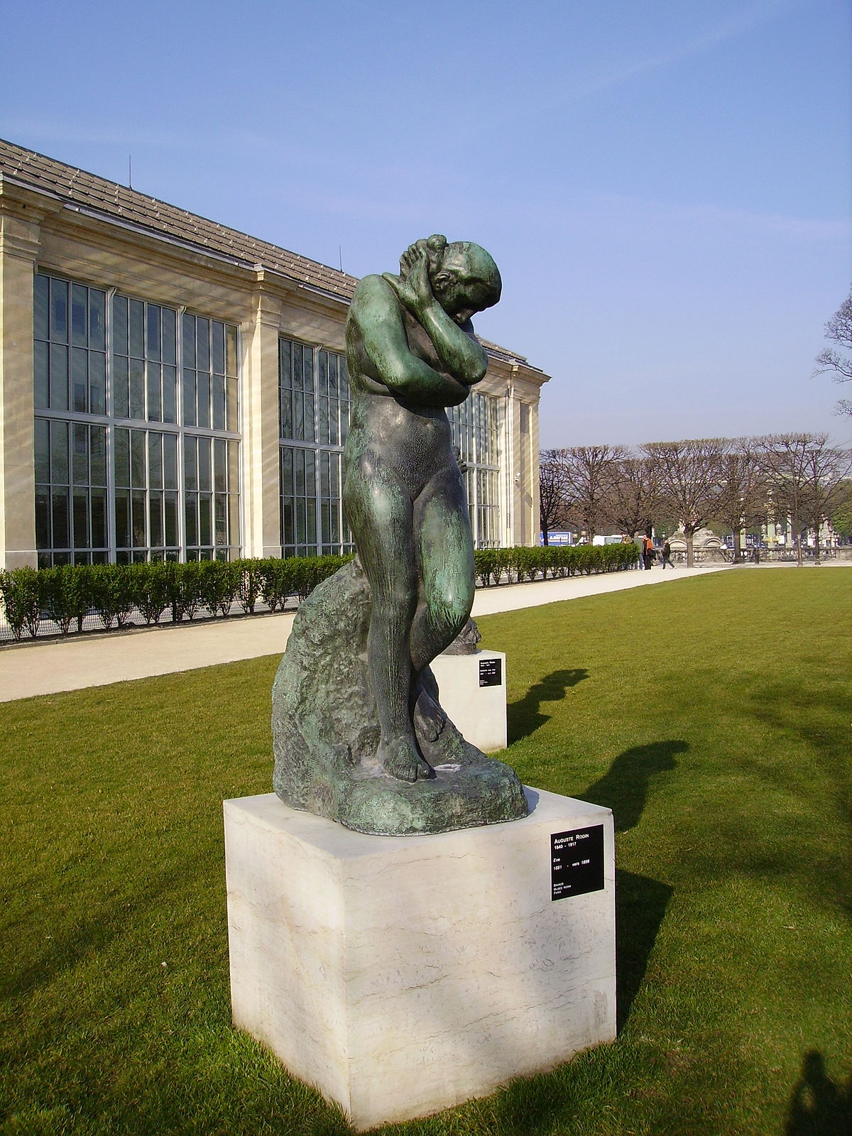 Mus e de l 39 orangerie wikipedia - Sculpture jardin des tuileries ...