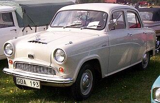 Austin Cambridge - Austin A40 Cambridge of 1956