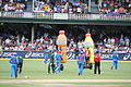 Australia v India Drinks break (6931204297).jpg