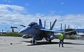 Australian EA-18G folding its wings at Joint Base Pearl Harbor-Hickam in 2017.jpg