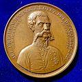 Austrian Medal honouring von Haynau in 1849, obverse.jpg