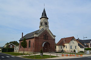 Autreville, Aisne - Autreville Church