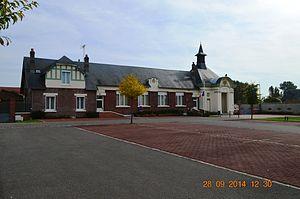 Autreville, Aisne - The Town Hall
