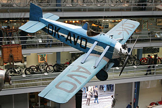 Avia BH-10 - BH-10 in the National Technical Museum, Prague