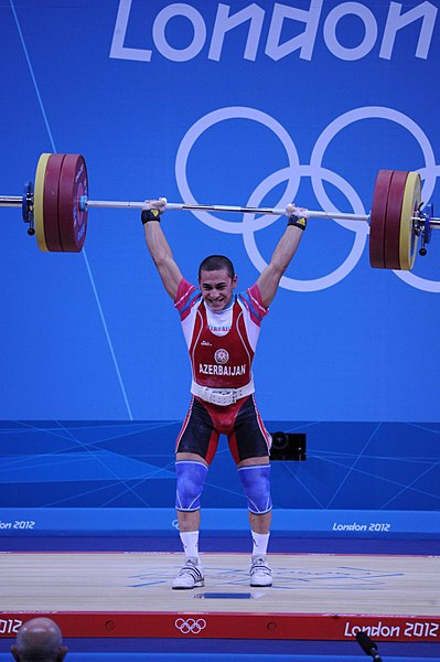 File:Azerbaijani athlete Valentine Khristov won bronze in the weightlifting competition of the 2012 London Olympic Games.jpg