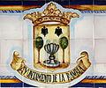 Azulejos con escudo de La Rambla (Córdoba).JPG