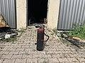 Bâtiment du Let Fitness (Beynost, France) en mai 2019 après incendie - 00006.jpg