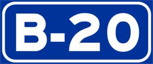B-10 motorway (Spain) - Image: B 20Spain 2