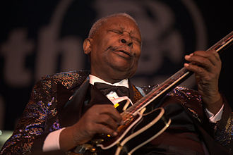 Blues - Image: B.B. King in 2009