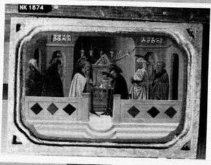 The presentation of the Christ-child in the Temple