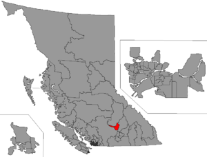 Kamloops-South Thompson - Image: BC 2015 Kamloops South Thompson