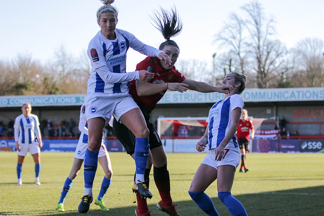 BHA Women 0 Man Utd Women 2 WFAC 4th rd 03 02 2019-540 (46934143482).jpg