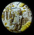 BLW Stained Glass - The Planet Saturn Driving Out a Monk with a Pig's Head.jpg
