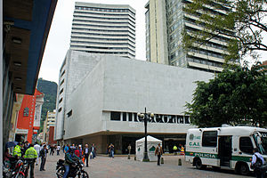 Gold Museum, Bogotá - View of the Museum of Gold